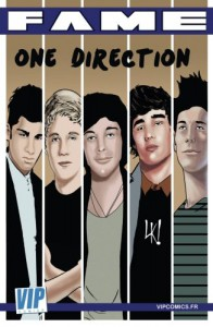 Fame One Direction: La biographie de One Direction en B.D.