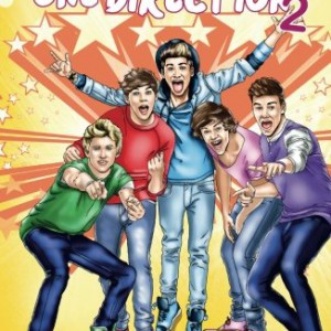 Fame One Direction 2: La seconde biographie de One Direction en B.D.