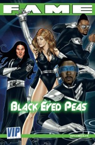Fame Black Eyed Peas: La biographie des Black eyed Peas en B.D.