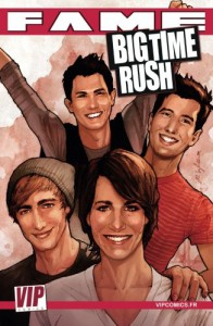 Fame Big Time Rush: La biographie de BIG TIME RUSH en B.D. !